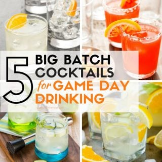 5 Big Batch Cocktails for Game Day Drinking