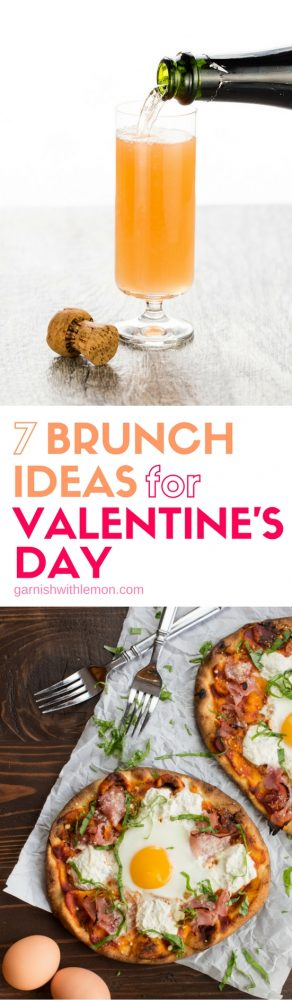 Surprise your sweetie with breakfast in bed! Don't miss our 7 Brunch Ideas for Valentine's Day!