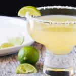 Wow your friends and your taste buds with these Key Lime Margaritas! Perfectly balanced cocktail that is only made with 4 ingredients!