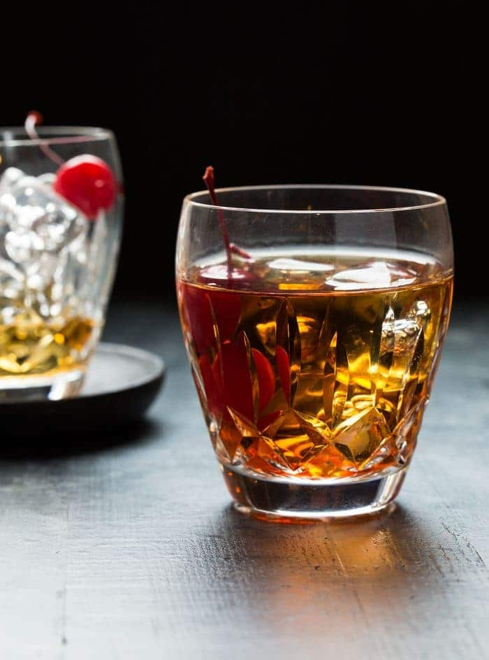 The Perfect Manhattan Cocktail is a perfect winter sipper!