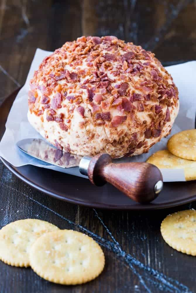 Everyone loves cheese and bacon! You will wow your guests with this Smoky Chipotle Bacon Cheese Ball!
