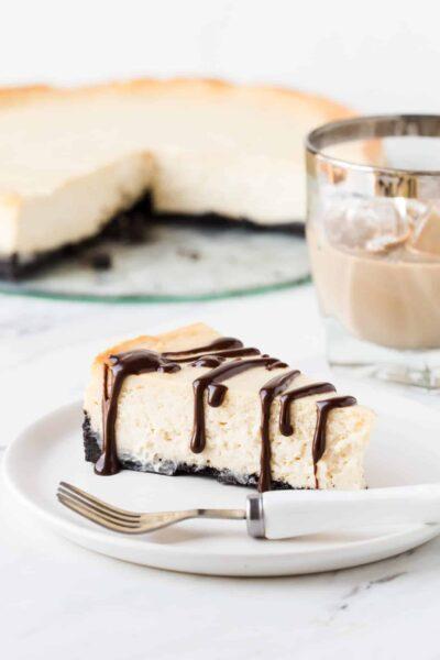 Irish Cream Cheesecake Recipe