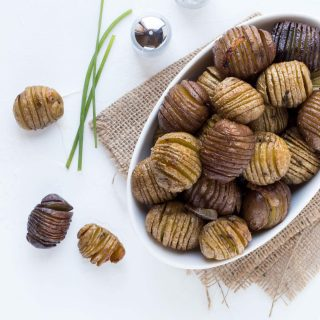 Brown Butter Hasselback Potatoes