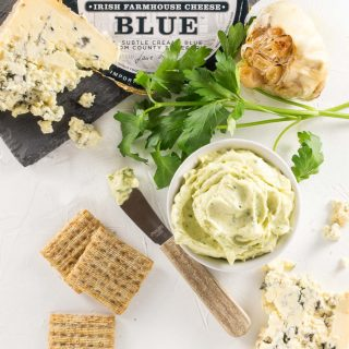 Any way you spread it, this Cashel Blue Cheese Butter is simply delcious!