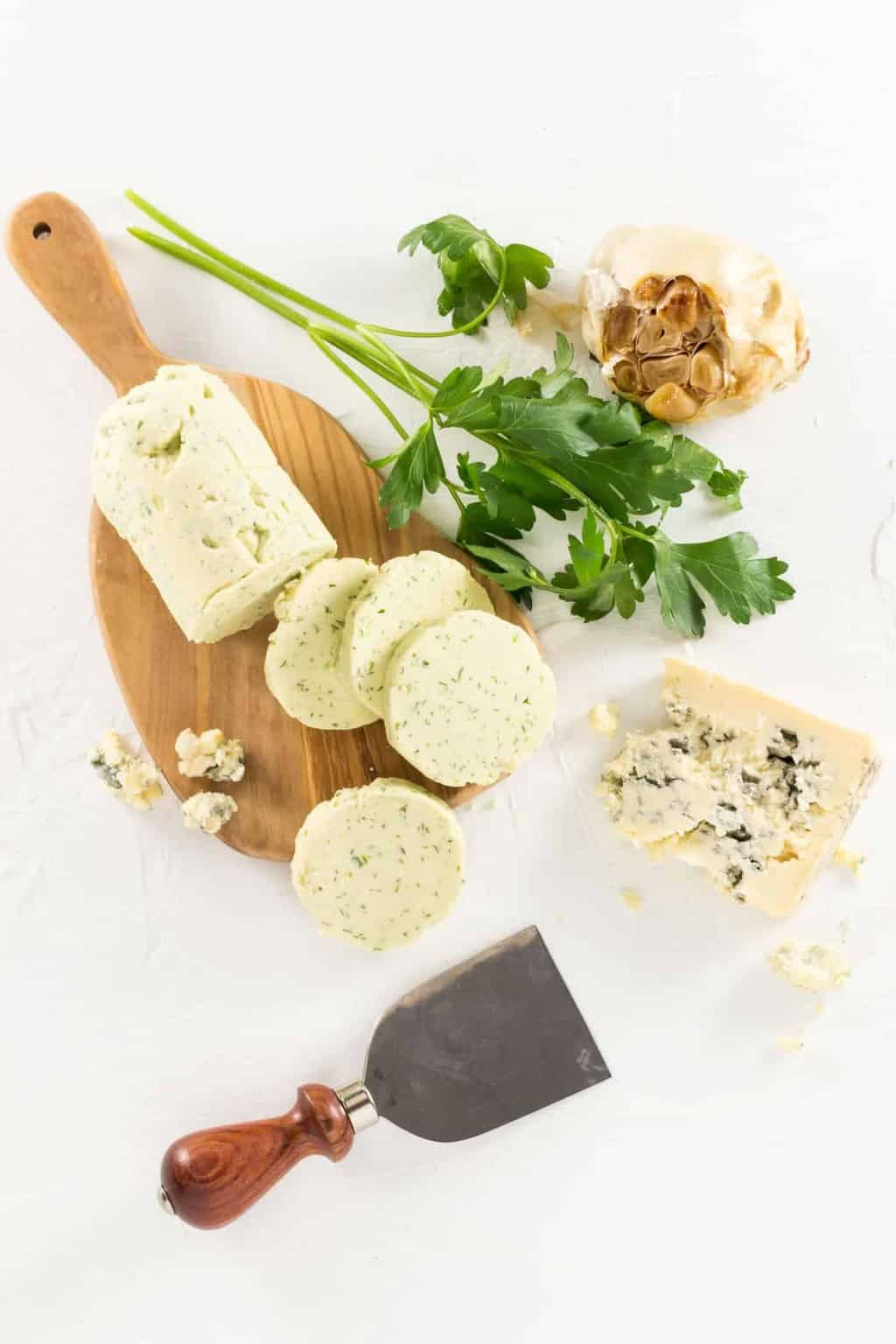 We love this Cashel Blue Cheese Butter on just about everything from bread to pasta to steak!