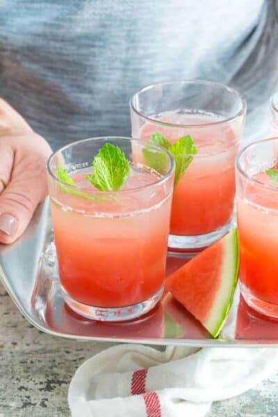 Watermelon Gin Punch