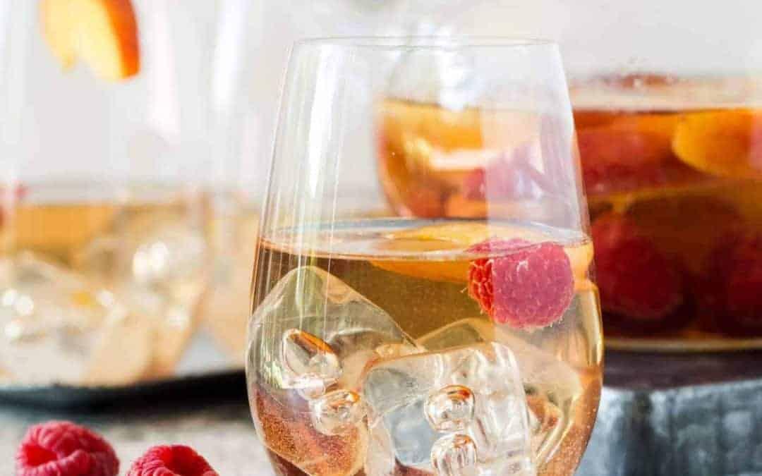 Peach Rosé Sangria