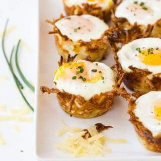 Sausage, Cheese and Hash Brown Cups