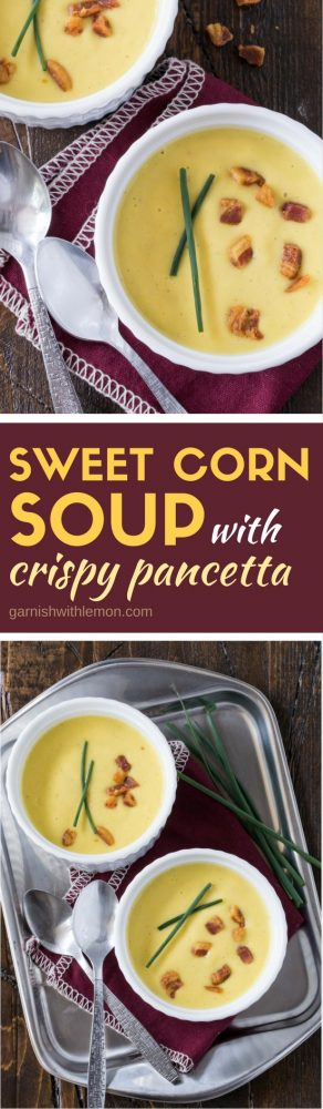 This Sweet Corn Soup recipe is a delicious way to enjoy the fresh-picked flavor of sweet corn. It freezes well, too!