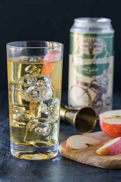 Elderflower Hard Cider Cocktails