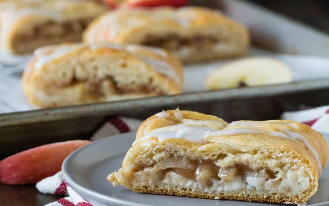 Easy Apple Cream Cheese Danish