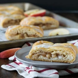 Easy Apple Cream Cheese Danish