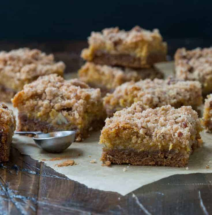 Pumpkin Butter  Bars