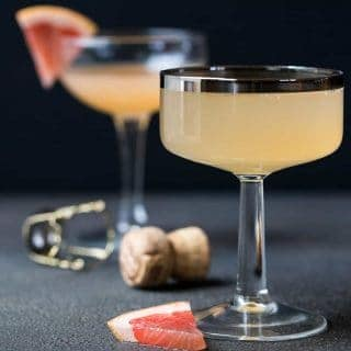 Ginger Grapefruit Prosecco Cocktail