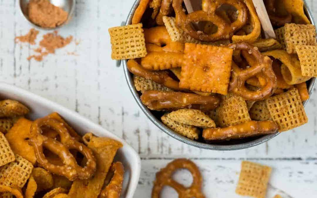 Homemade Taco Snack Mix Recipe