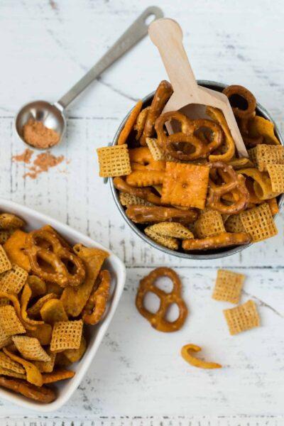 Homemade Taco Snack Mix Recipe