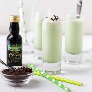 Mini Irish Cream Shakes