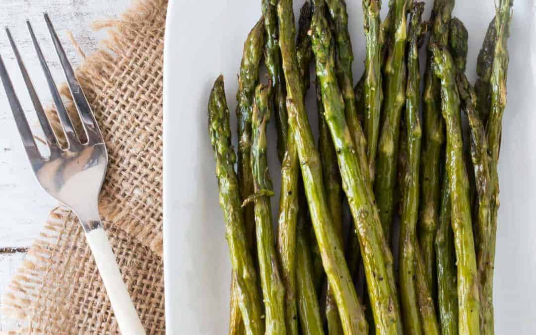 Oven Roasted Asparagus Recipe with Brown Butter