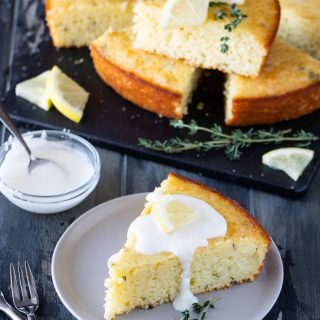 Lemon Thyme Breakfast Cake