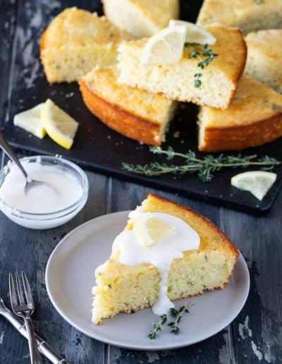 Lemon Thyme Breakfast Cake