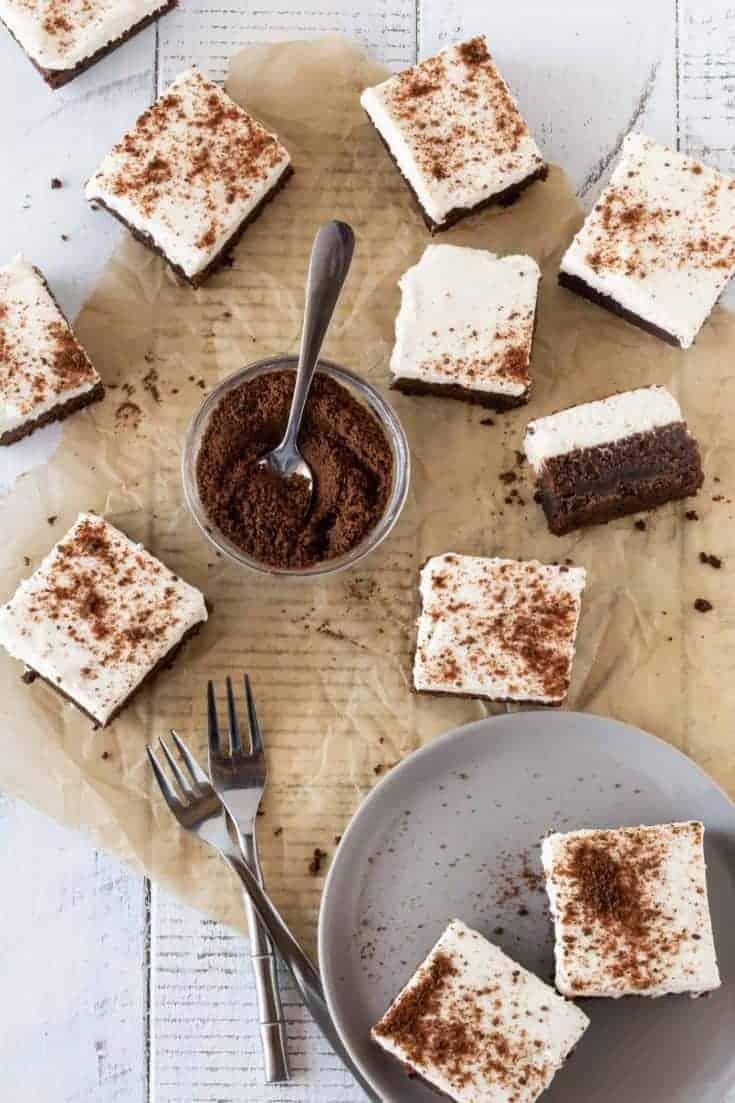 Chocolate Mud Pie bars