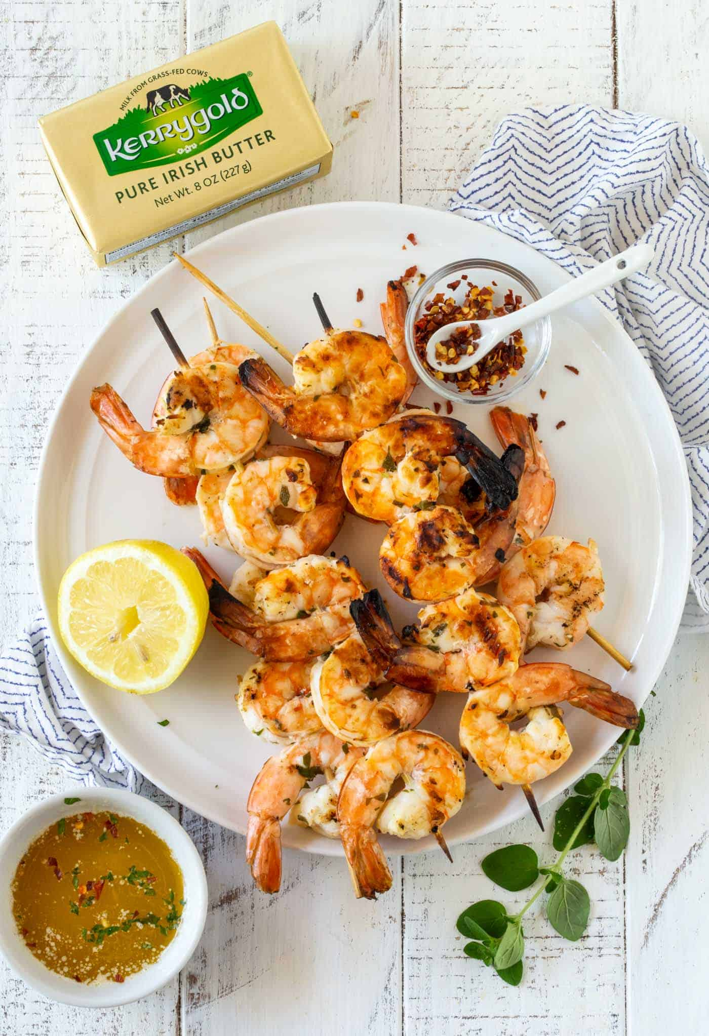 Zesty Grilled Shrimp S...