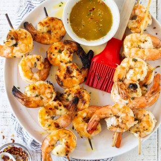 Zesty Grilled Shrimp Skewers