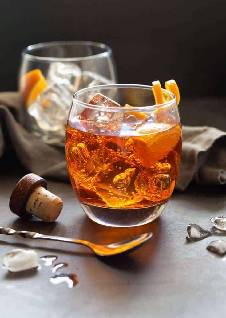 Bourbon Aperol Cocktails