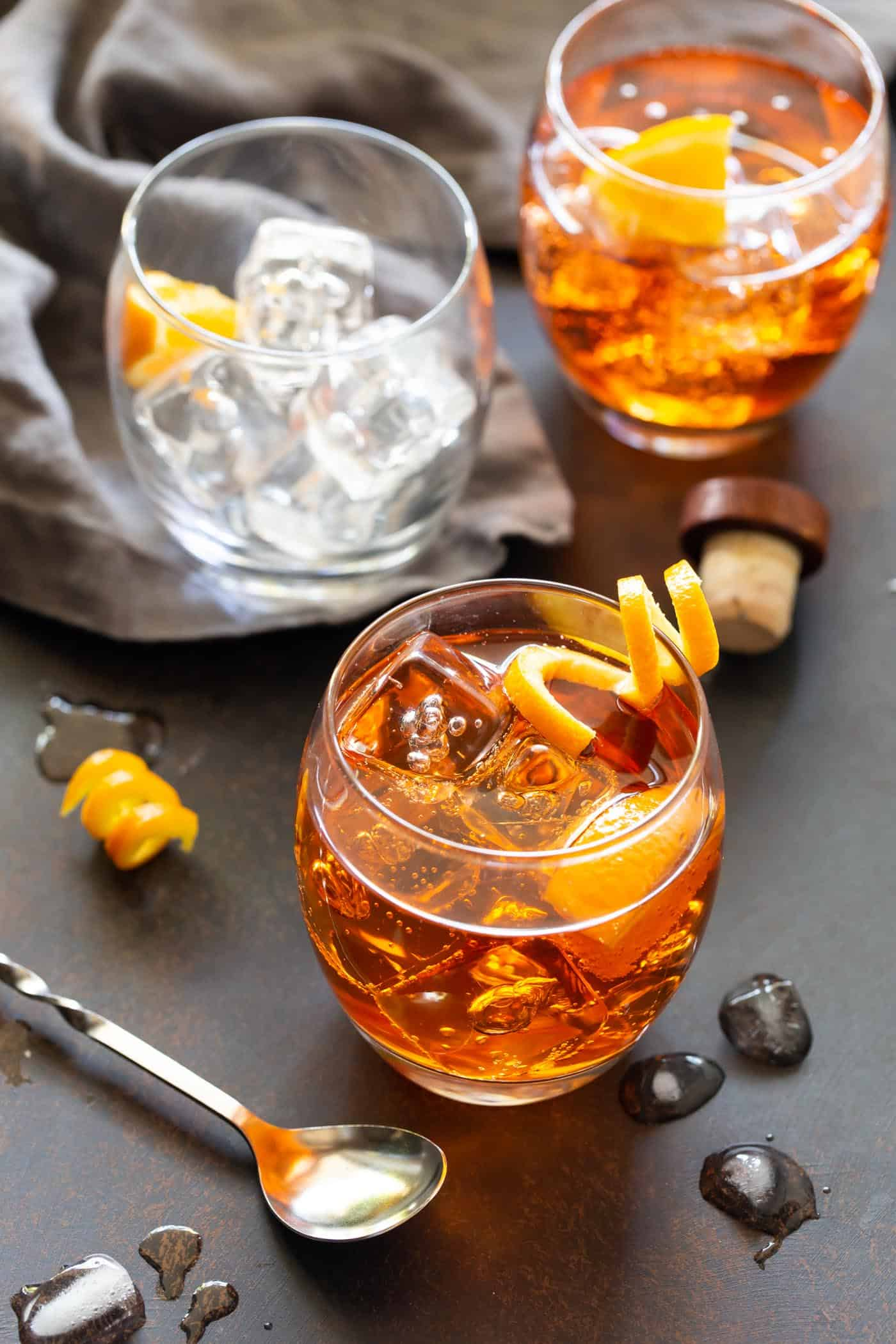 Aperol and Gin