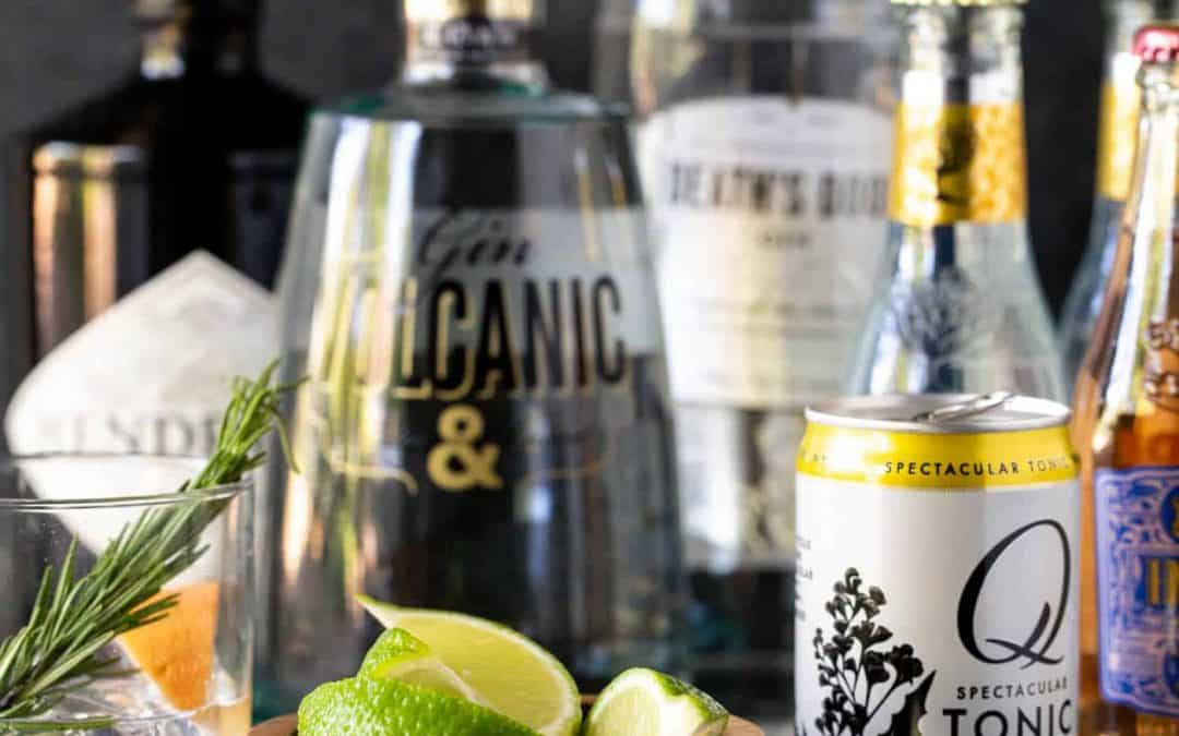 DIY Gin & Tonic Bar