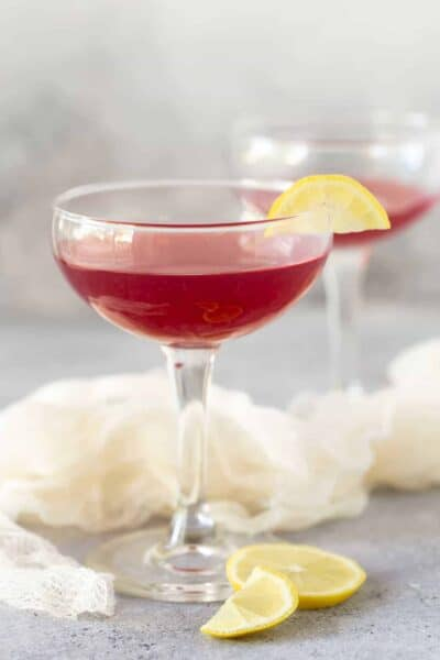 Pomegranate Gin Cocktails