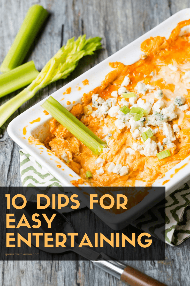 Image of Buffalo Chicken Dip for Top 10 Dip Recipes for easy entertaining.