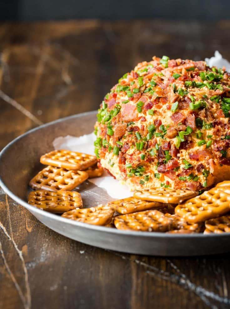 Bacon Pimento Cheese Ball