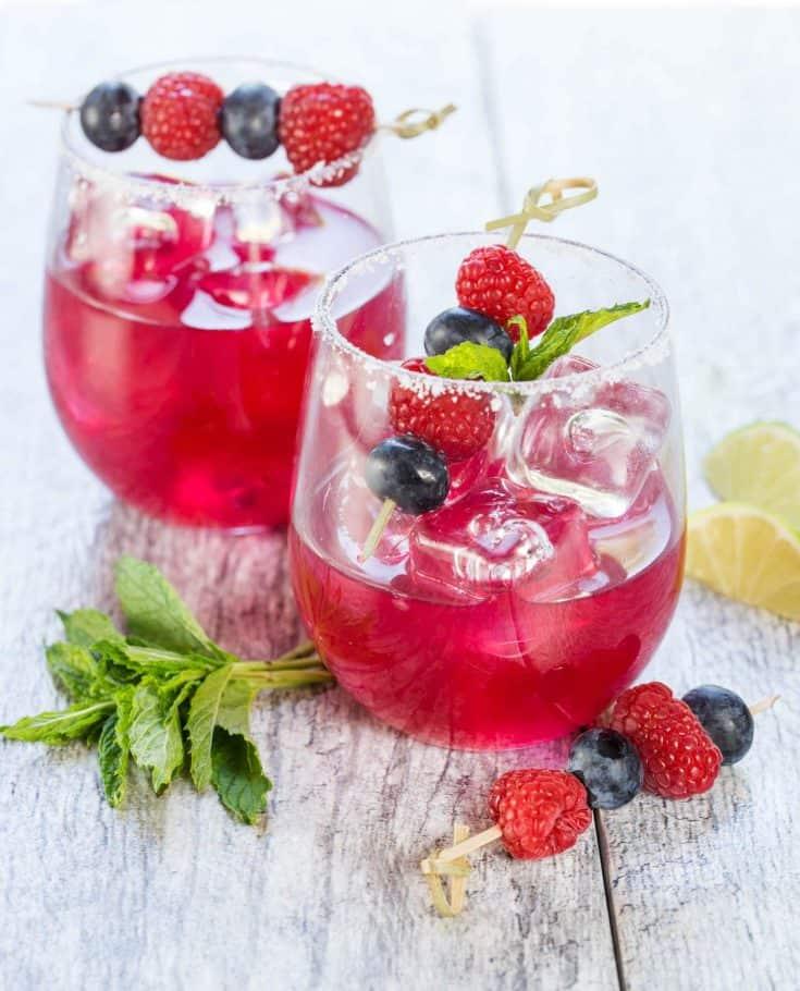 Blueberry Margaritas