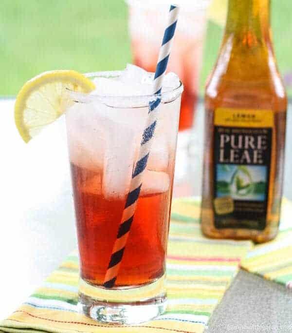 Cranberry Tea Spritzers