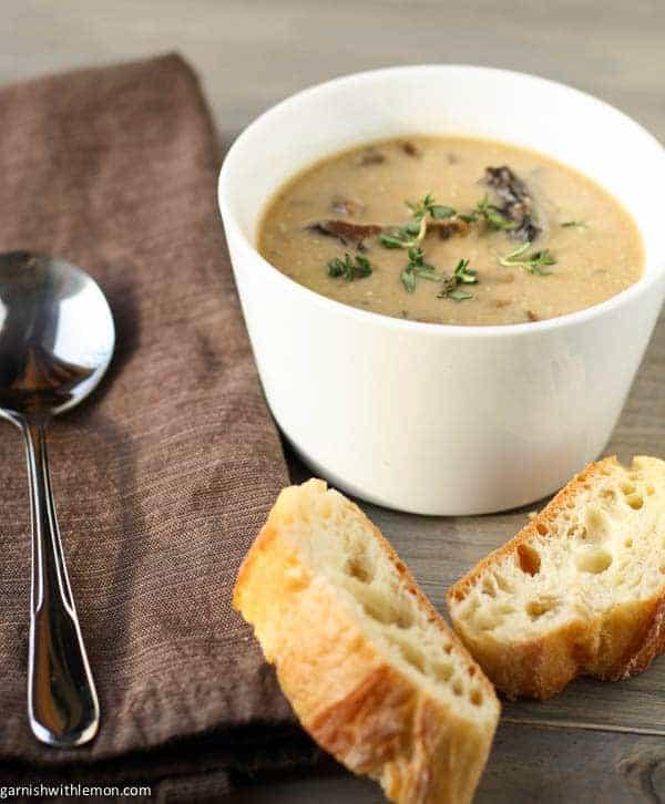 Creamy Porcini Soup