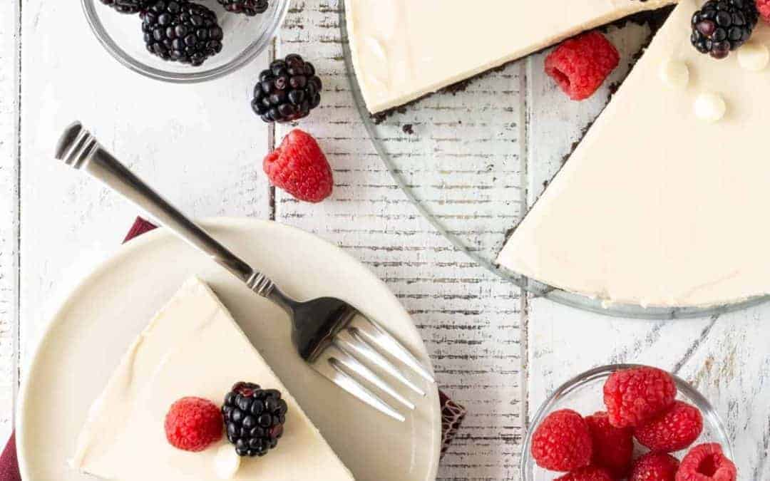 Easy White Chocolate Tart Recipe