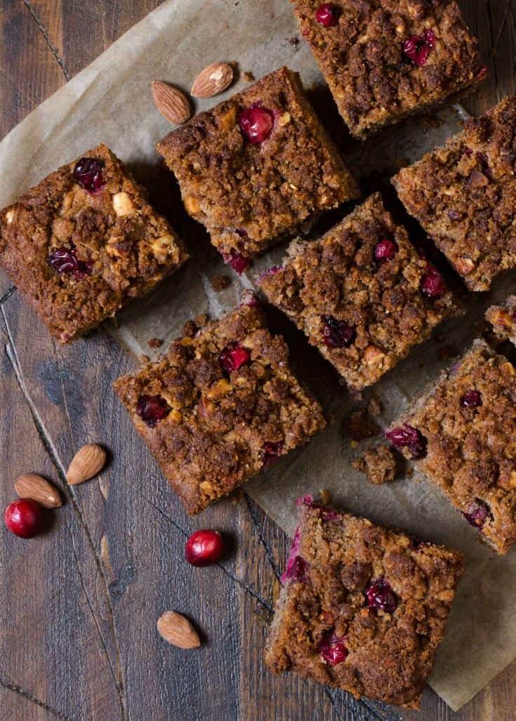 Gluten-Free Cranberry Nut Coffee Cake
