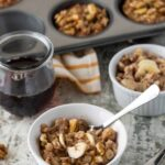 These easy, make-ahead Banana Nut Baked Oatmeal Cups are a delicious healthy breakfast recipe that never fails to please!