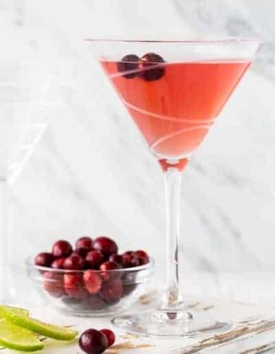 Metropolitan Cranberry Martini Recipe