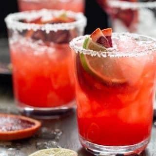Blood Orange Margaritas for a Crowd