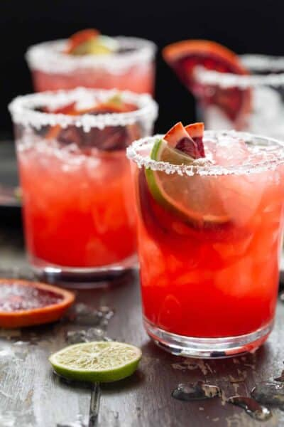 Blood Orange Margaritas for a Crowd