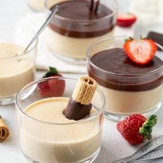 Irish Cream Panna Cotta recipe