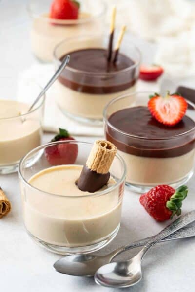 Irish Cream Panna Cotta recipe