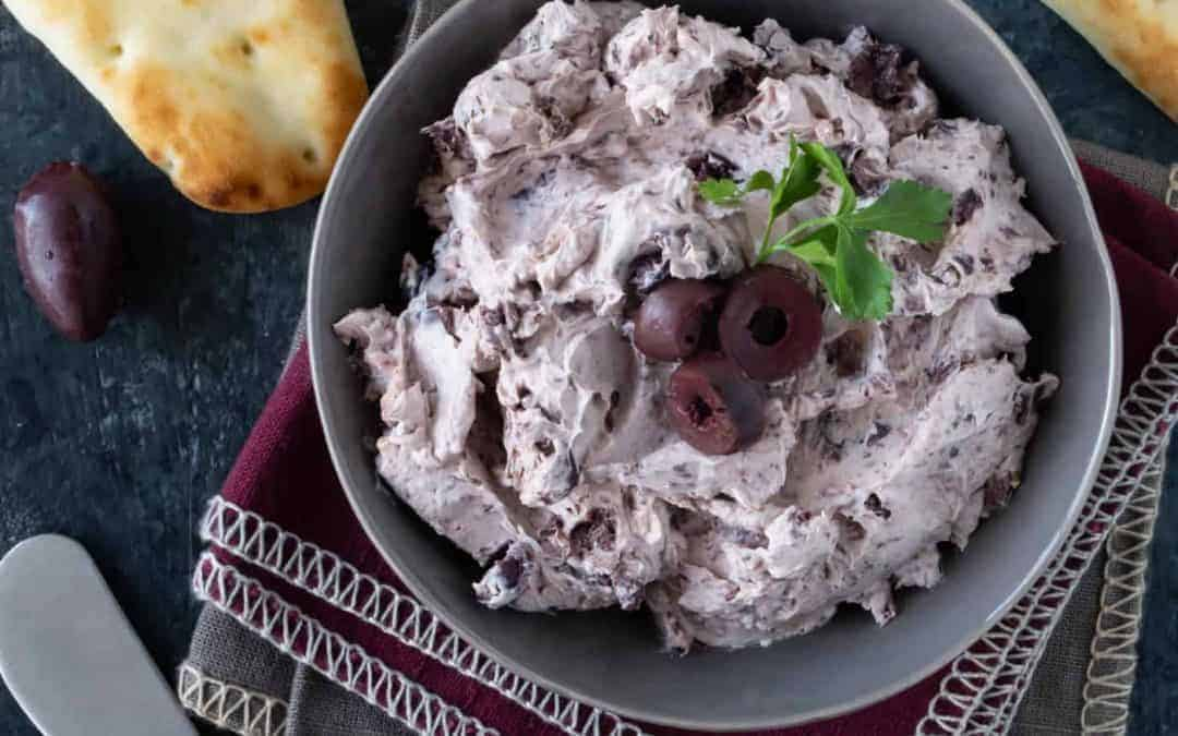 Kalamata Olive Cream Cheese Spread