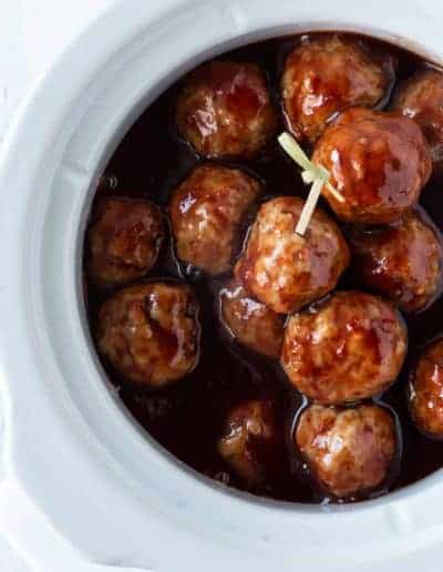 3 Easy Slow Cooker Cocktail Meatball Recipes for your next party