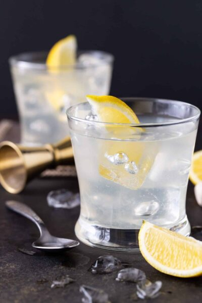 Elderflower Vodka Soda recipe