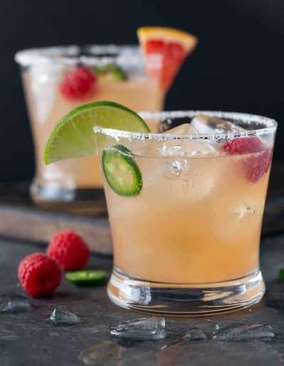 Raspberry Paloma Cocktails