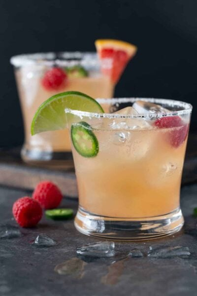 Raspberry Paloma Cocktails
