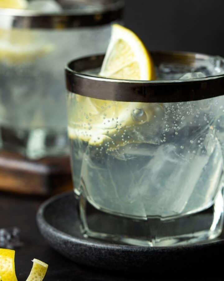 elderflower vodka soda featured image